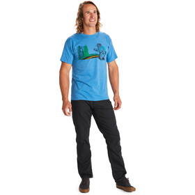 Marmot Trek T-shirt Homme, royal heather
